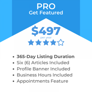 Pro Listing Package